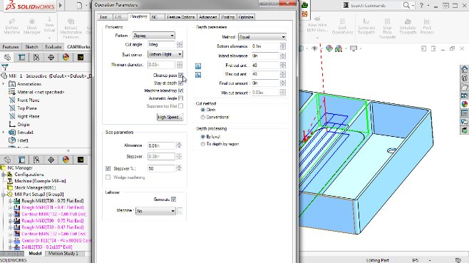 CAMWorks / SOLIDWORKS CAM Tutorials and Training Courses